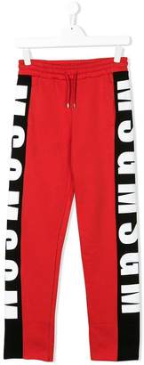 MSGM piped track pants