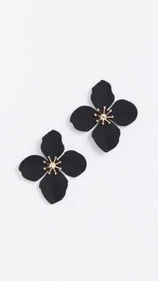 Shashi Large Flower Stud Earrings