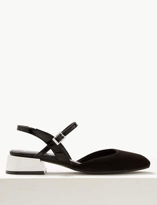 Marks and Spencer Strap Slingback Shoes