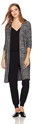 Velvet by Graham & Spencer Women's Melora Cozy Jersey Long Cardigan