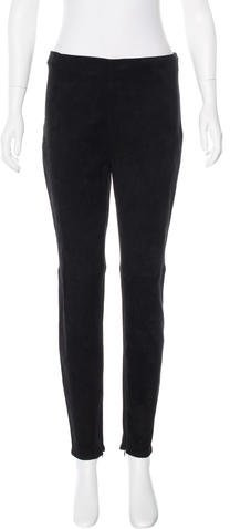 Ralph Lauren Collection Suede Skinny Pants w/ Tags