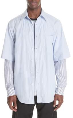 3.1 Phillip Lim Double Layer Woven Shirt