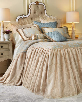 Isabella Collection By Kathy Fielder Queen Grace Sheer Dust Skirt