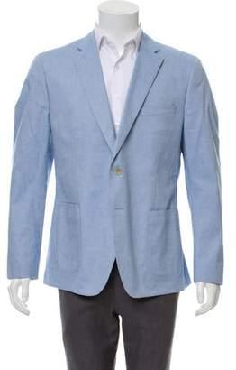 Michael Kors Notch-Lapel Woven Blazer