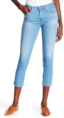 AG Jeans Prima Mid-Rise Cropped Cigarette Jeans