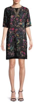 Etro Floral Printed Tunic Dress