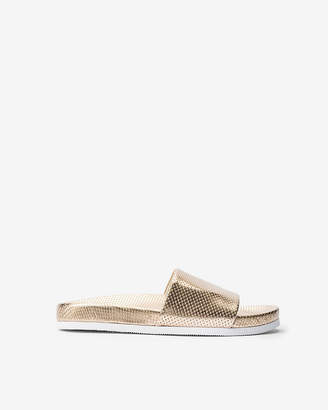 Express Jane And The Shoe Julie Slide Sandals