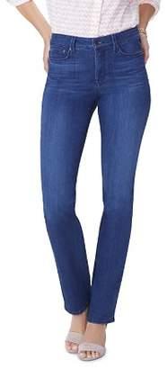 NYDJ Marilyn Straight-Leg Jeans in Lark