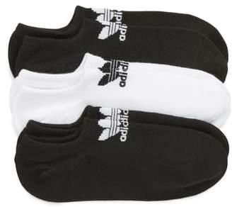adidas 3-Pack No-Show Socks