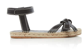 Loewe Gate Leather Sandals