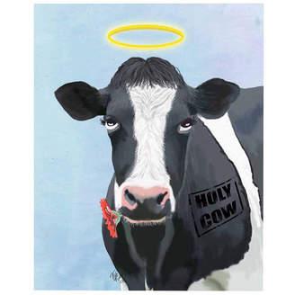 Asstd National Brand Holy cow Canvas Wall Art