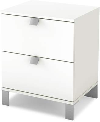 South Shore Spark Two Drawer Nightstand
