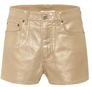 Chloé Exclusive to mytheresa.com – coated denim shorts