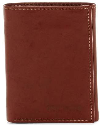 Steve Madden Antique Leather Tri-fold Wallet