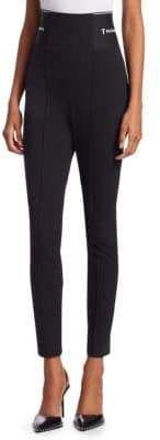 Alexander Wang Logo Banded Trouser Leggings