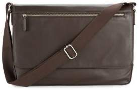 Cole Haan Java Leather Messenger Bag