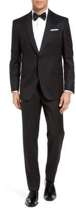 Ted Baker Josh Trim Fit Wool & Mohair Tuxedo