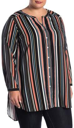 0ec2af76c0b Daniel Rainn DR2 by Button Up Tunic (Plus Size)