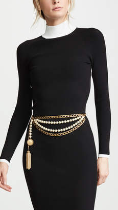 Chanel What Goes Around Comes Around Medallion Chain Belt