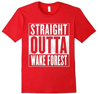 Wake Forest T-Shirt - STRAIGHT OUTTA WAKE FOREST Shirt