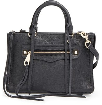 Rebecca Minkoff 'Micro Regan' Satchel - Black $225 thestylecure.com