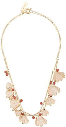 Etro enamel flower necklace