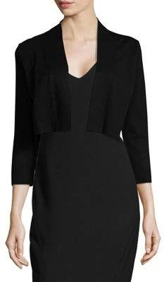 Calvin Klein Long Sleeve Cropped Cardigan