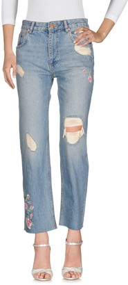 Anine Bing Denim pants - Item 42649757RH