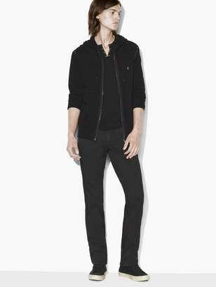 Peace Sign Zip Hoodie $148 thestylecure.com