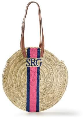 Mark And Graham Hand-Painted Circle Beach Bag