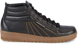 Mephisto Rainbow Leather Mid-Top Sneakers