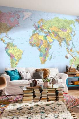 Mural Brewster Home Fashions World Map