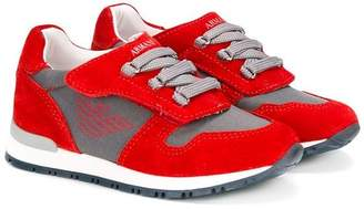 Emporio Armani Kids colour blocked sneakers