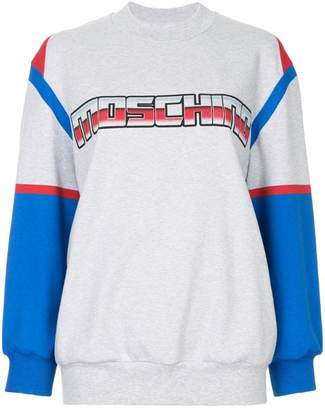 Moschino Transformers logo sweatshirt