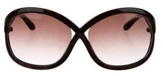 Tom Ford Sandra Oversize Sunglasses