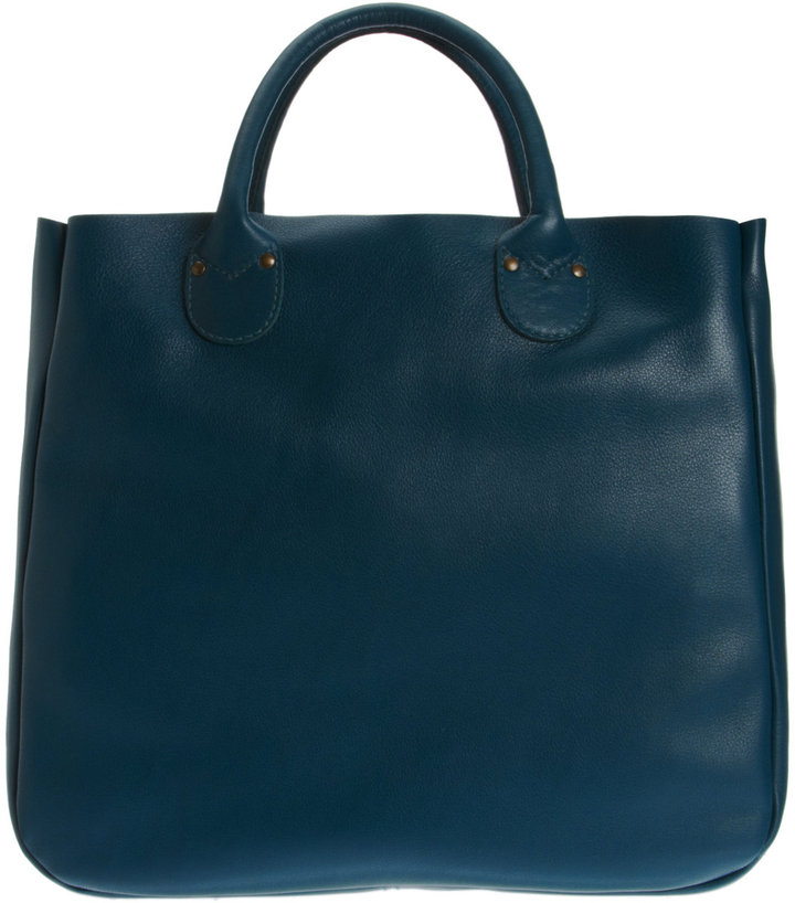 Barneys New York CO-OP Leather Tote