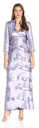 Jessica Howard Women's Jacekt Dress with Artichoke Skirt $63.11 thestylecure.com