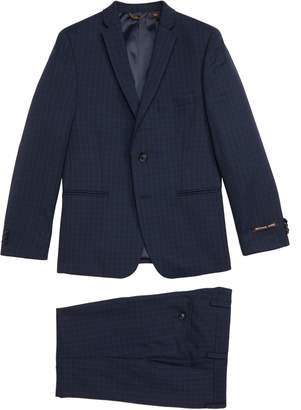 Michael Kors Plaid Wool Suit