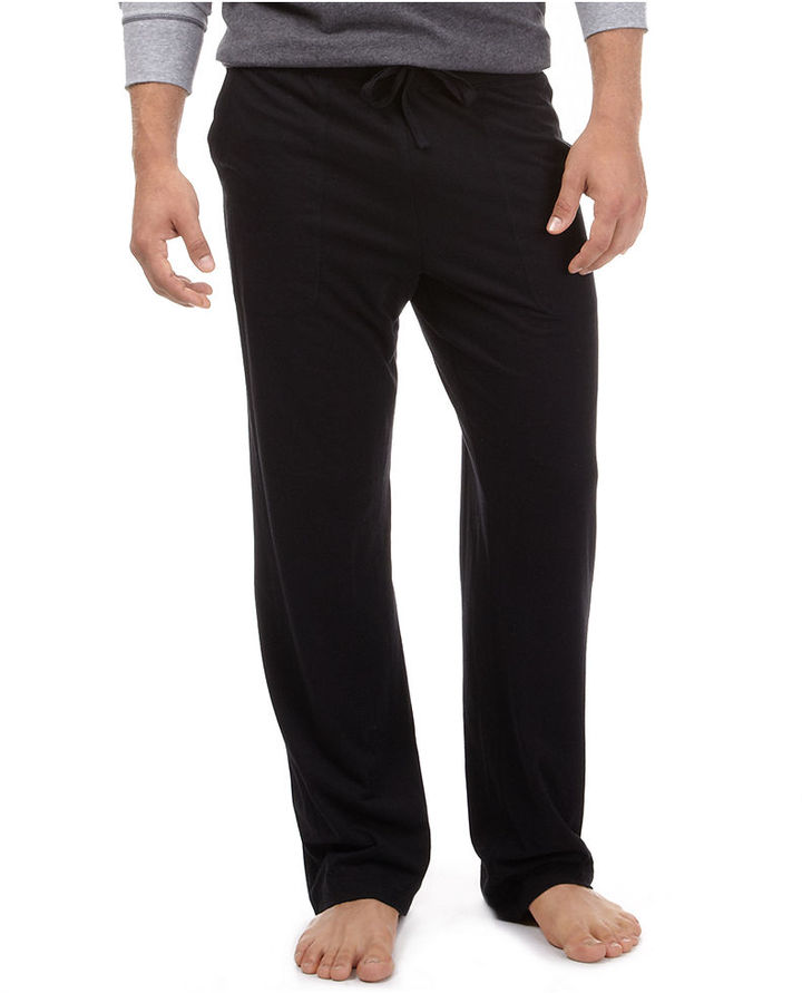 Nautica Men's Pajamas, Sueded Jersey Pants