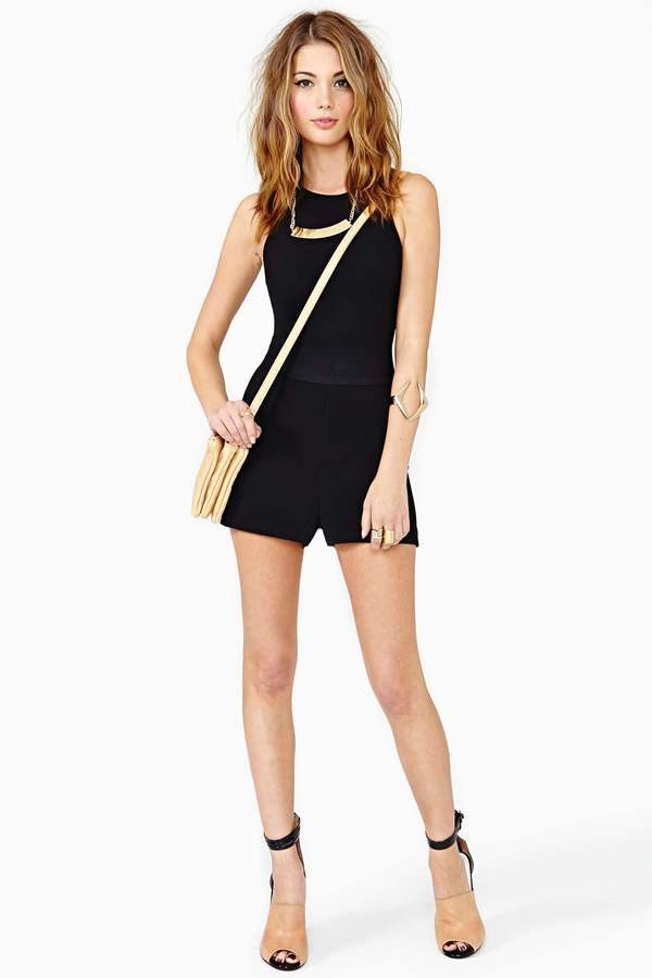 Nasty Gal Spinal Tap Romper