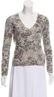 Loro Piana Cashmere Patterned Top