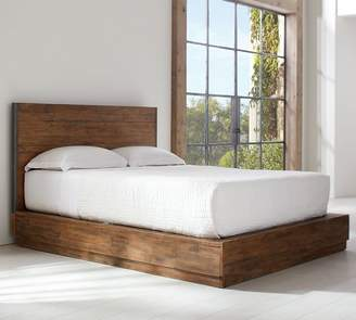 Pottery Barn Big Daddy's Antiques Reclaimed Wood Bed