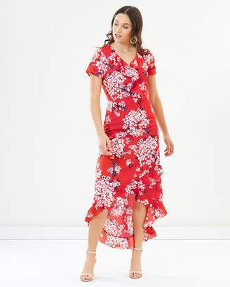 Dorothy Perkins Ruffled High Low Dress