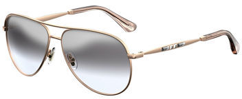Jimmy Choo Jimmy Choo Jewly Rhinestone Aviator Sunglasses