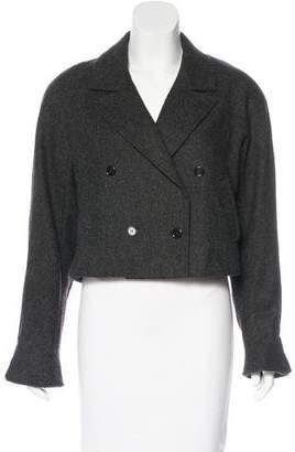 Kenzo Wool Cropped Jacket