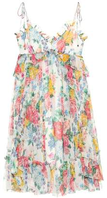 Zimmermann Exclusive to mytheresa.com – floral-printed silk dress