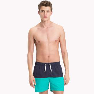 Tommy Hilfiger Colorblock Short-Length Swim Trunk