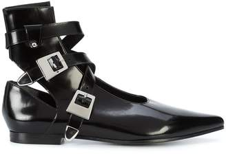 Robert Clergerie x Self Portrait buckled boots