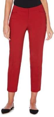 Rafaella Cropped Straight Leg Trousers