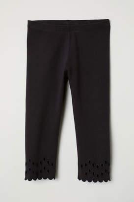 H&M 3/4-length Leggings - Blue